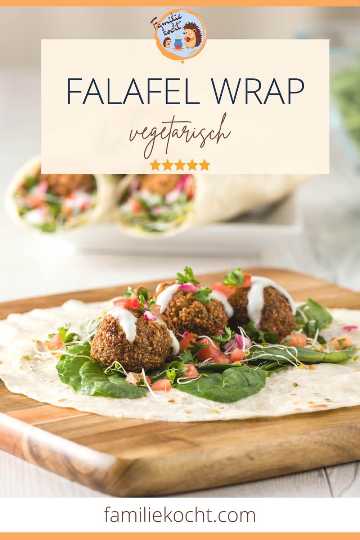 Falafel Wrap Sandwich Rezept