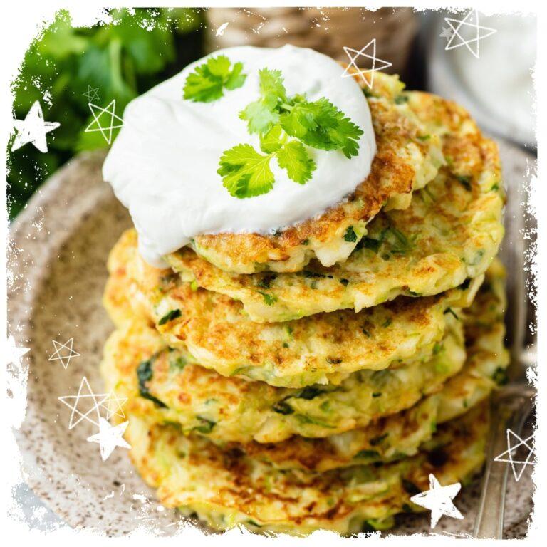 Gemüsetaler mit Kräuterquark Rezept