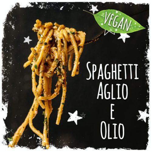 Spaghetti Aglio e Olio vegan