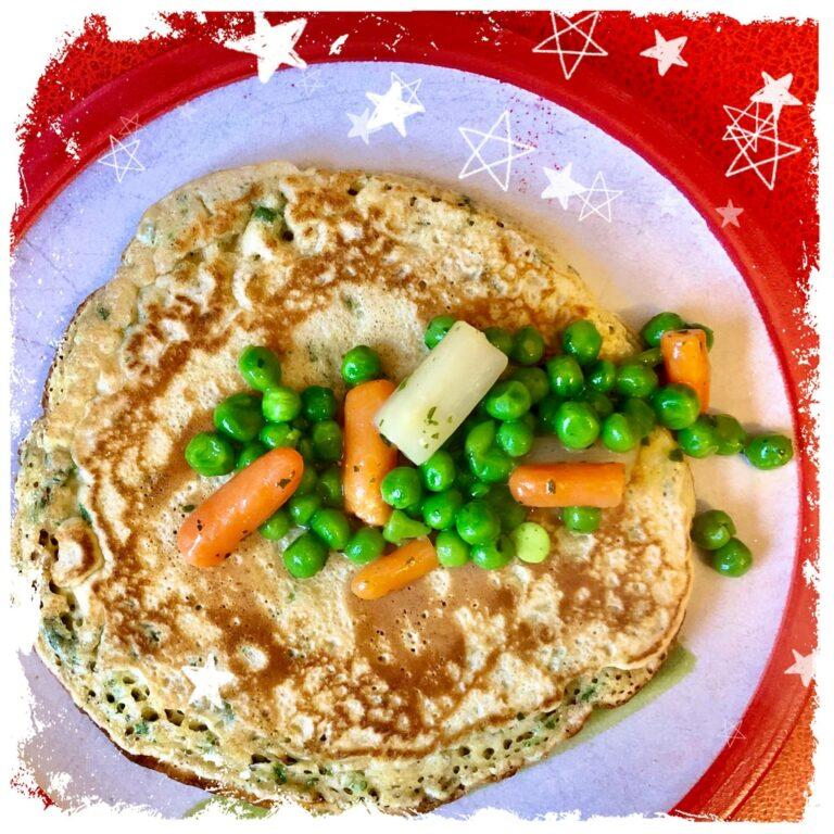 Vollkorn Kräuterpfannkuchen Rezept