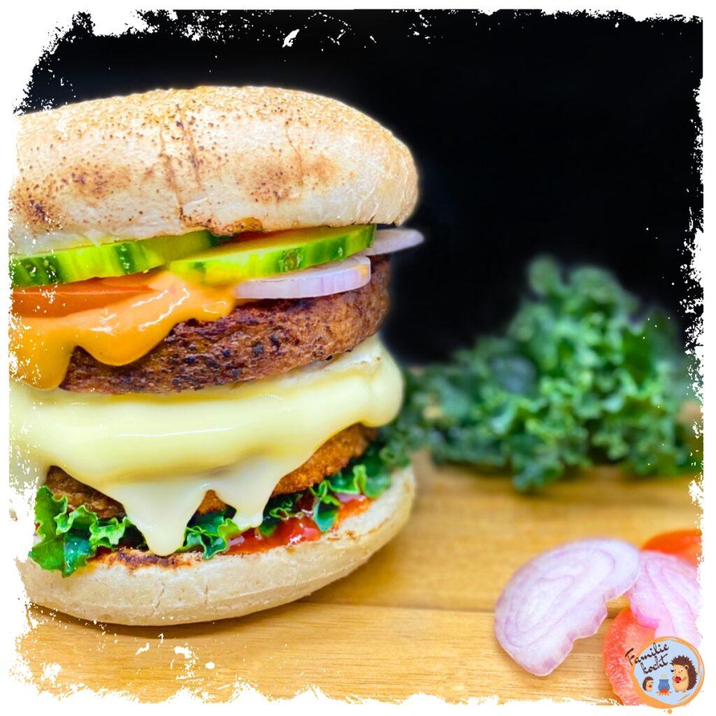 Der beste Veggie Burger vegan & lecker frisch vom Grill (Rezept)