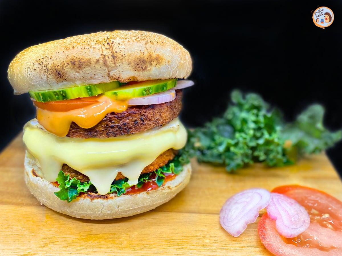 Veggie Burger Selbstgemacht Grillen
