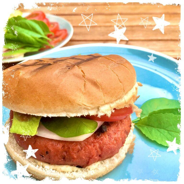 Veggie Burger vegan Grillen Rezept