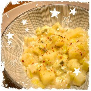 Lauchcreme Kartoffelpfanne Rezept