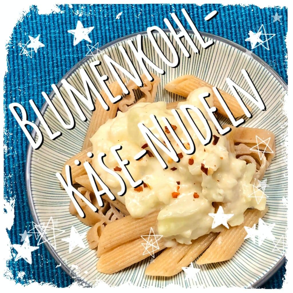 Blumenkohl-Käse-Nudeln