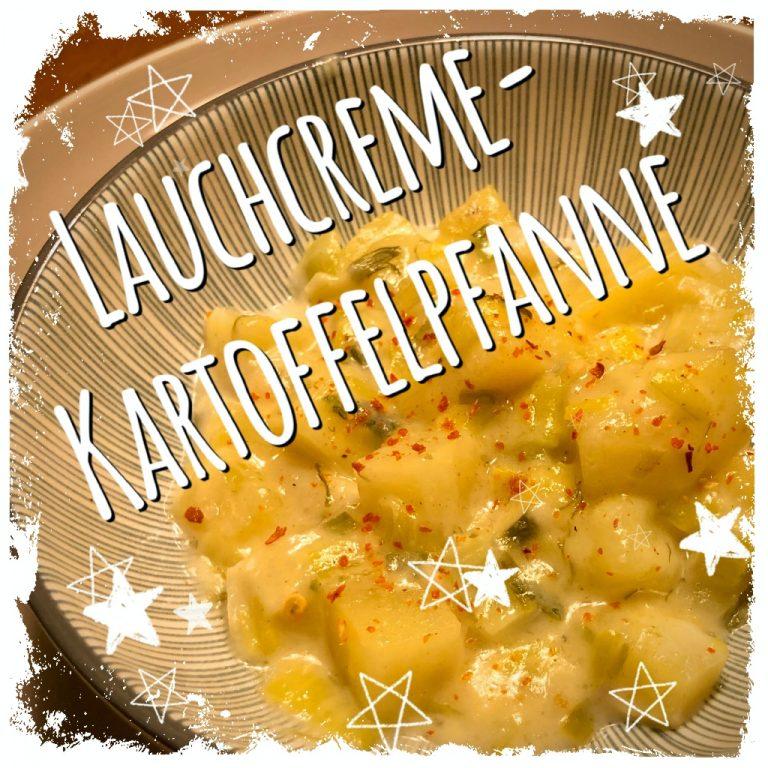 Lauchcreme-Kartoffelpfanne