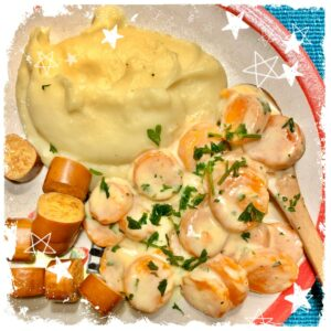 Cremiges Möhrengemüse mit Kartoffelbrei Rezept