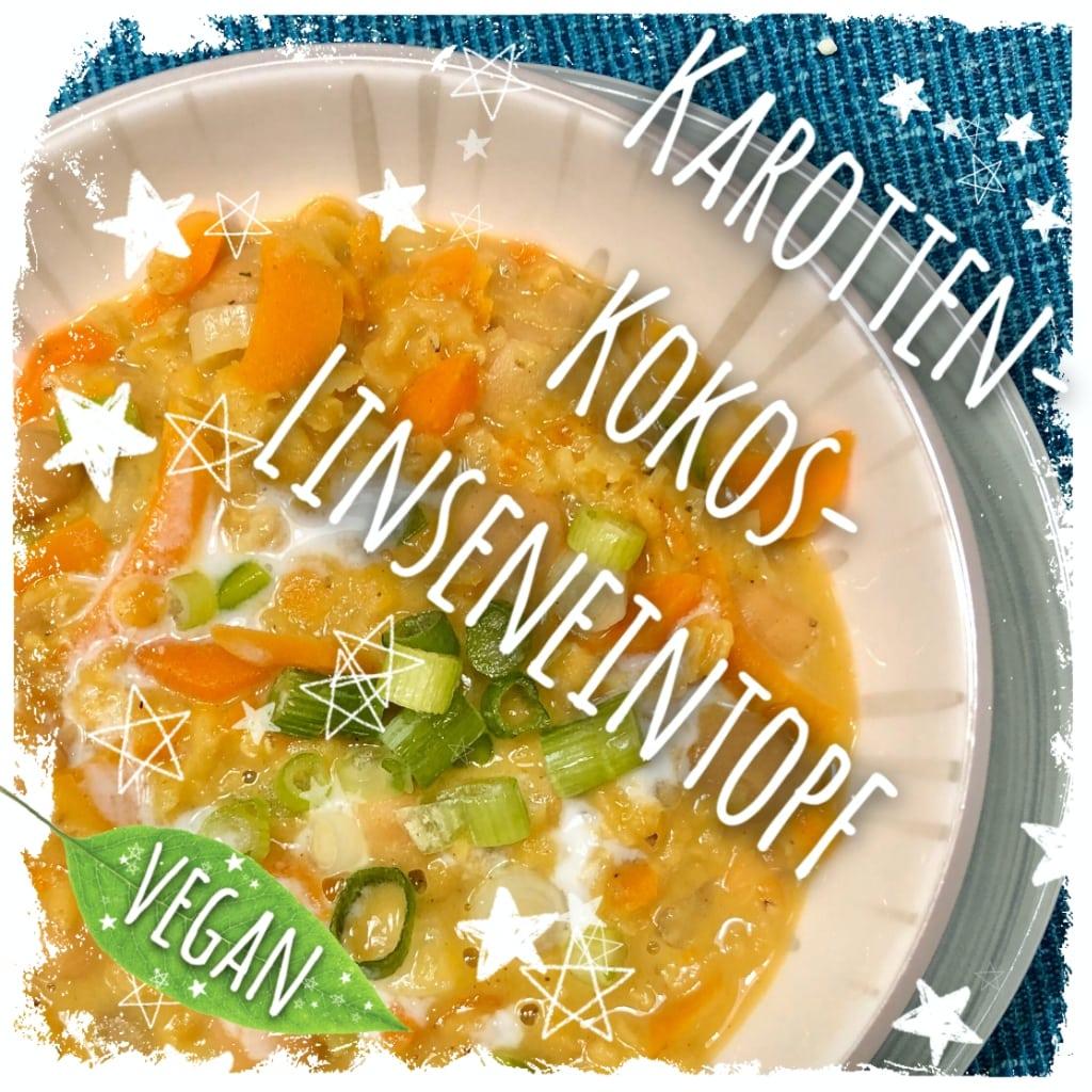 Karotten-Kokos-Linseneintopf