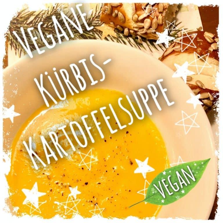 Vegane Kürbis-Kartoffelsuppe