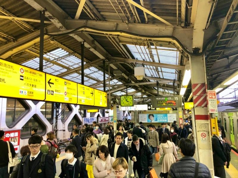 14 Shinjuku Jamanote Line
