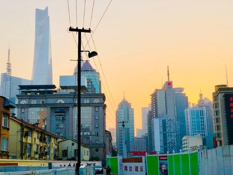 15 Shanghai Skyline