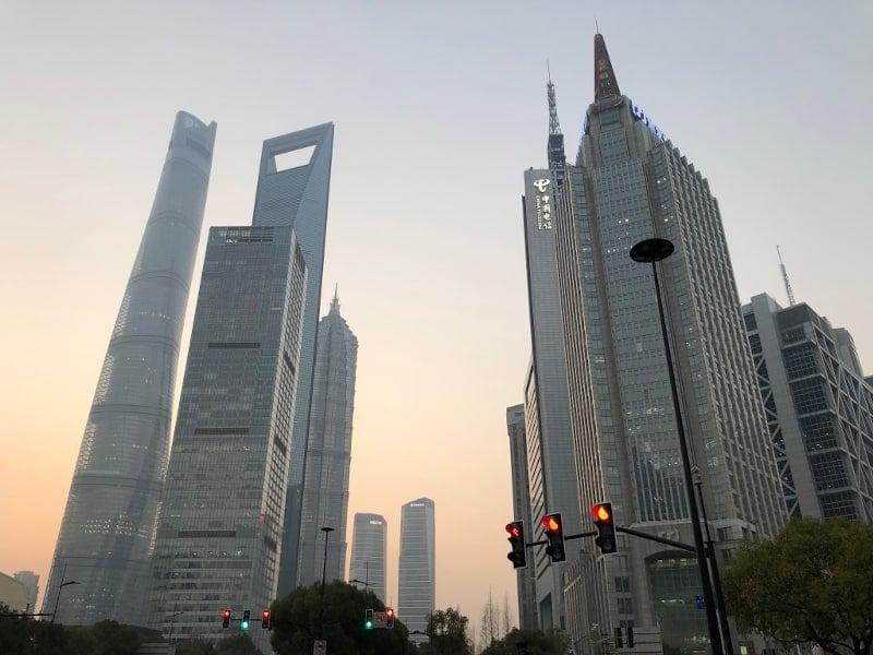 17 Shanghai Skyline