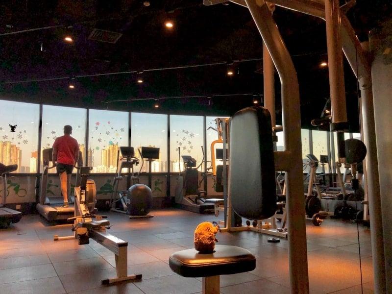 19 Fitness im Hotel