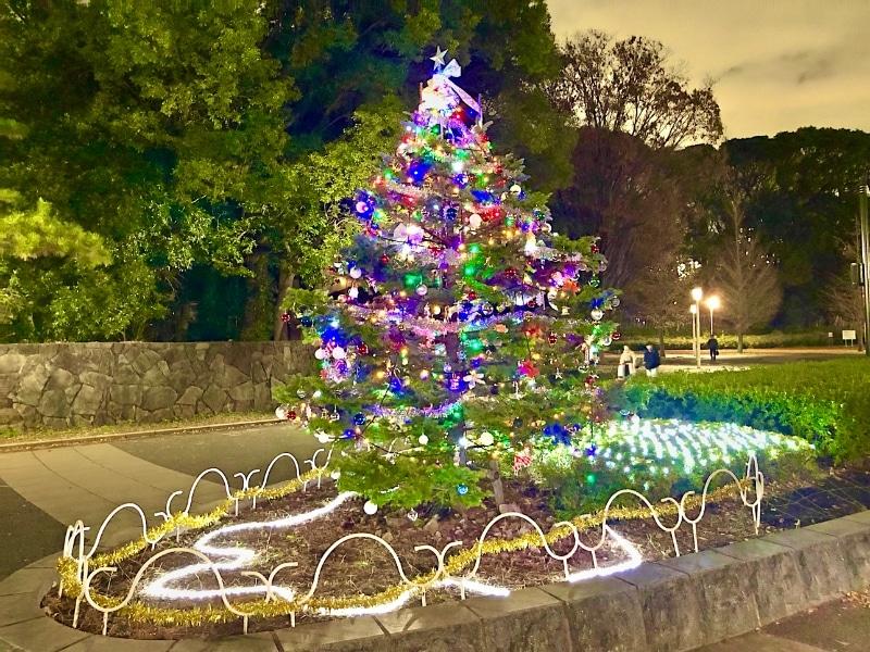 39 Shibuya Weihnachtsbaum