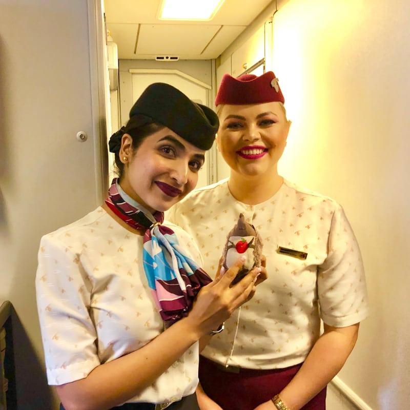 47 Nette Flugbegleiter