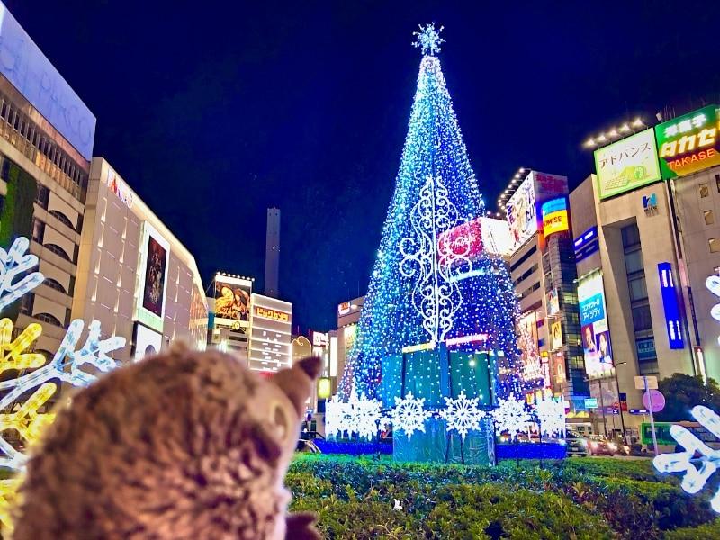60 Ikebukuro Weihnachtsbaum