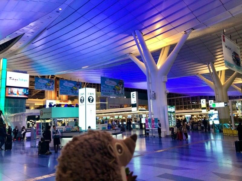 72 Am Flughafen Haneda