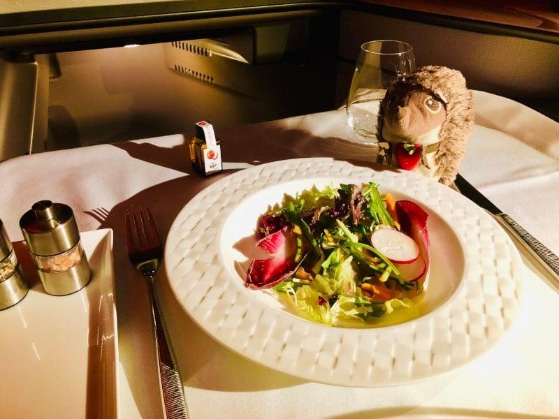 9 Snack im Flugzeug