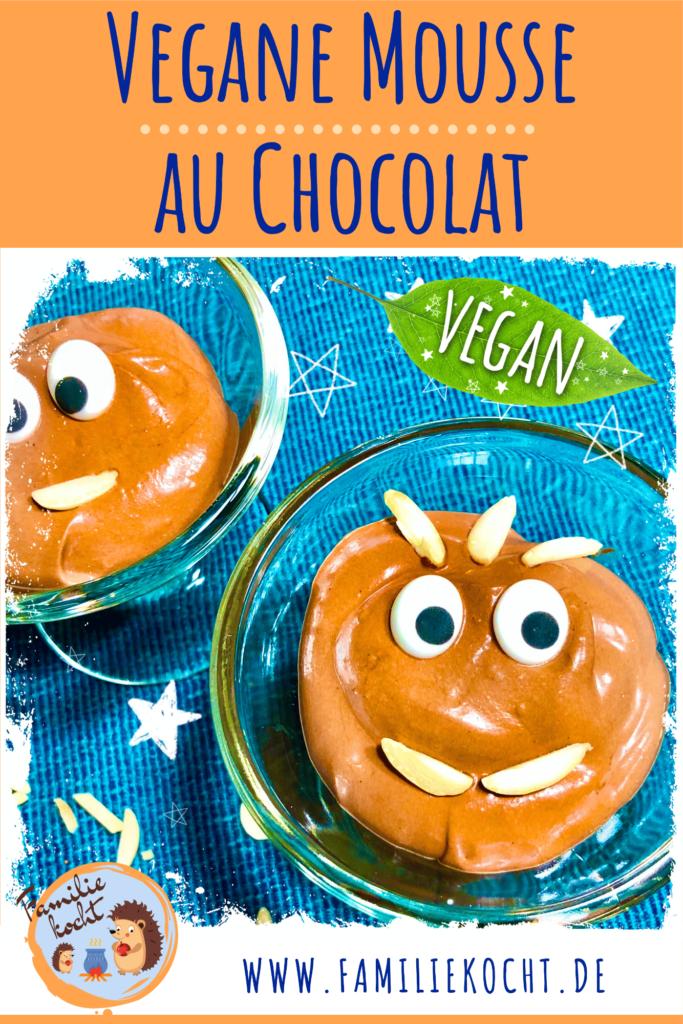 Vegane Mousse au Chocolat Pin