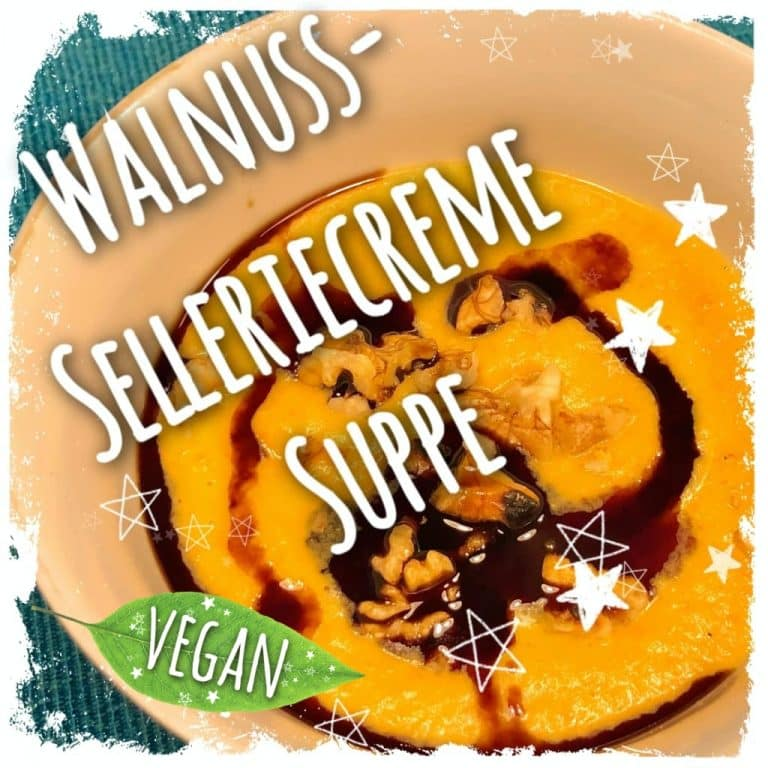 Walnuss-Selleriecreme-Suppe