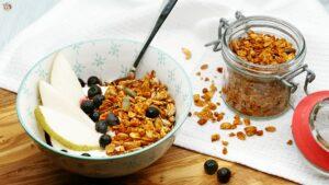Granola ohne Zucker