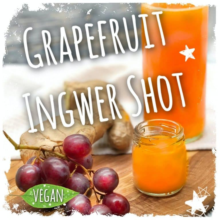 Grapefruit Ingwer Shot