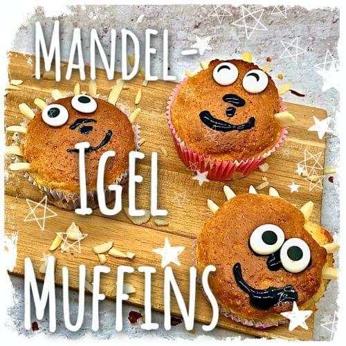 Mandel Igel Muffins
