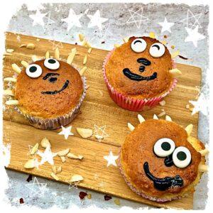 Mandel Igel Muffins Rezept
