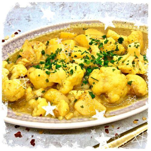 One Pot Blumenkohl Curry Rezept