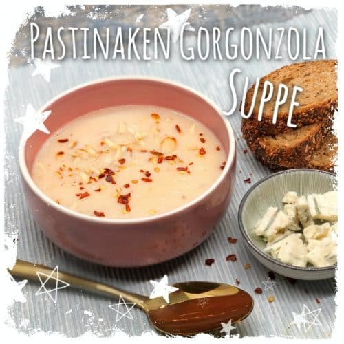 Pastinaken Gorgonzola Suppe