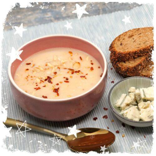 Pastinaken Gorgonzola Suppe Rezept