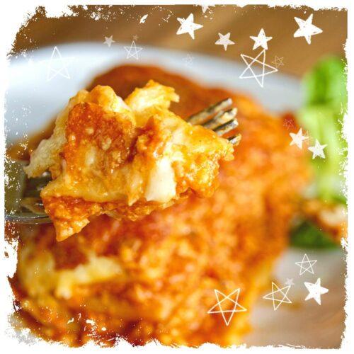Rote Linsen Lasagne Rezept