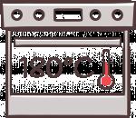 烤箱180度