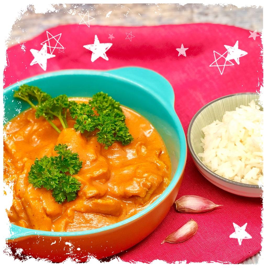 Butter Chicken Makhani Vegetarisch Rezept