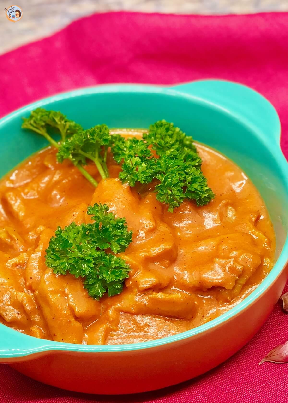Indisches Butter Chicken Makhani Vegetarisch 1