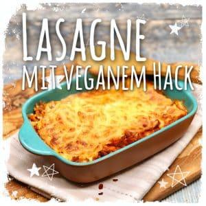 Lasagne mit veganem Hack