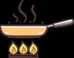 Bratkartoffeln mit Ei (Bauernfrühstück) 1