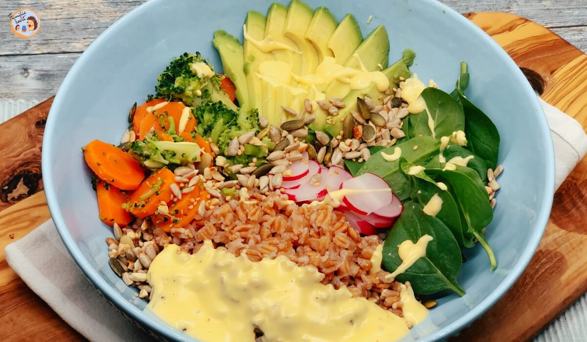 Poke Bowl vegetarisch