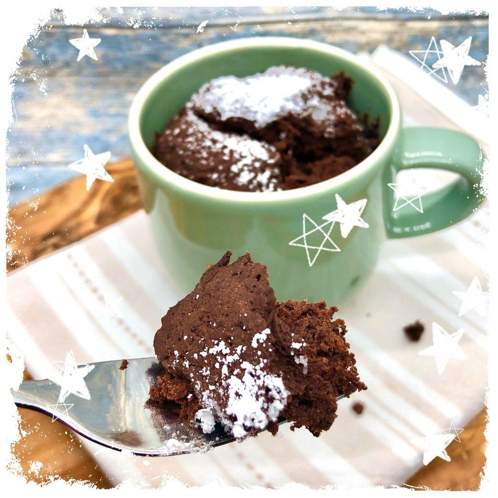 Veganer Tassenkuchen Rezept