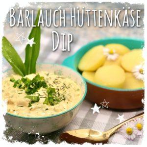 Bärlauch Hüttenkäse Dip