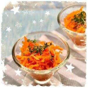 Schnelle Karotten Rohkost Rezept