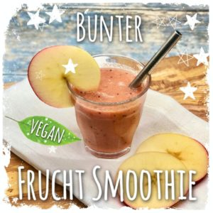 Bunter Frucht Smoothie