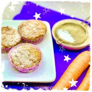 Gesunde Karotten Muffins ohne Ei Rezept