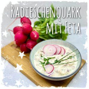 Radieschenquark mit Feta