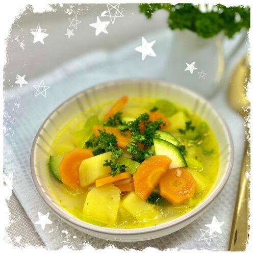 Sommerliche Gemüsesuppe Rezept
