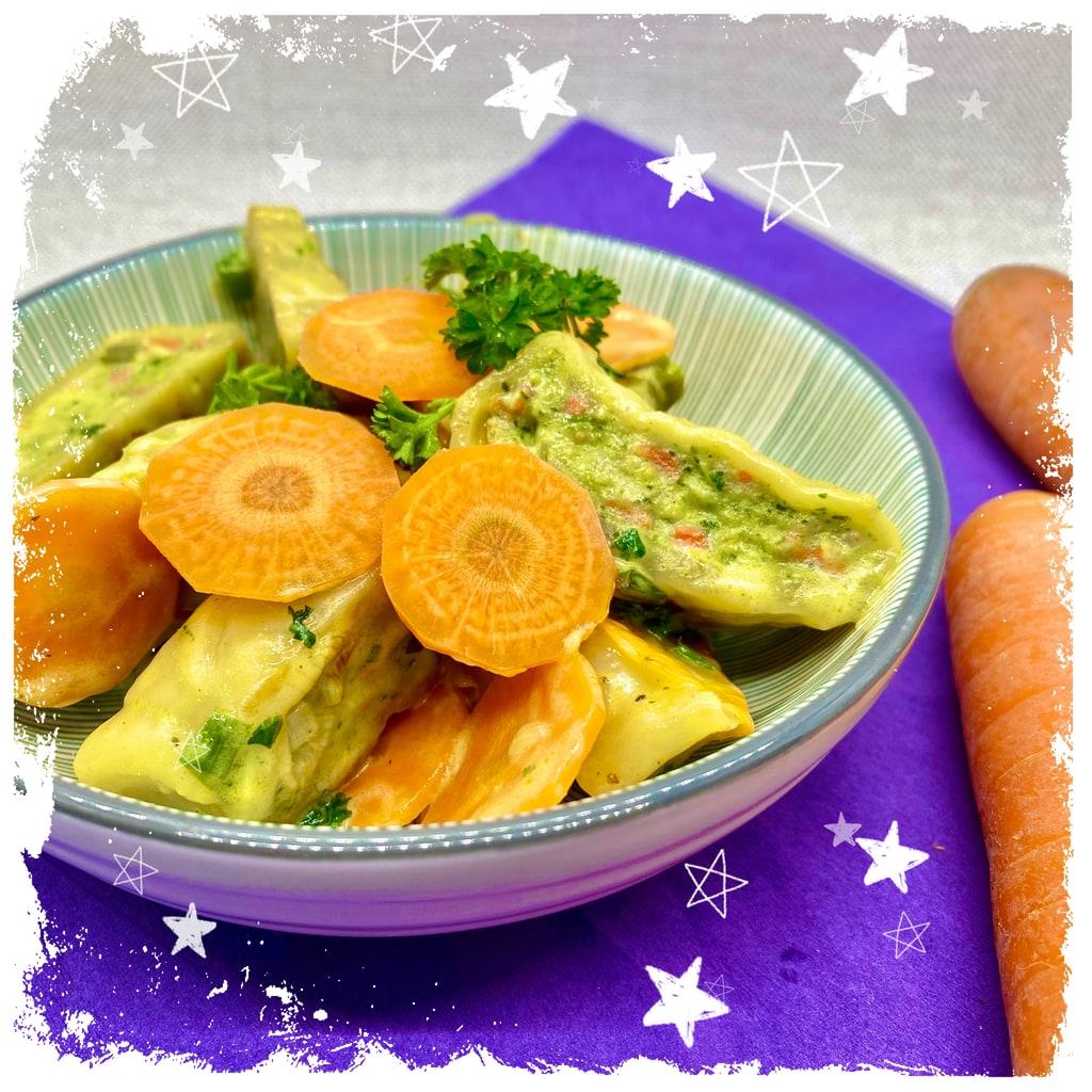 Gemüsemaultaschen Rezept