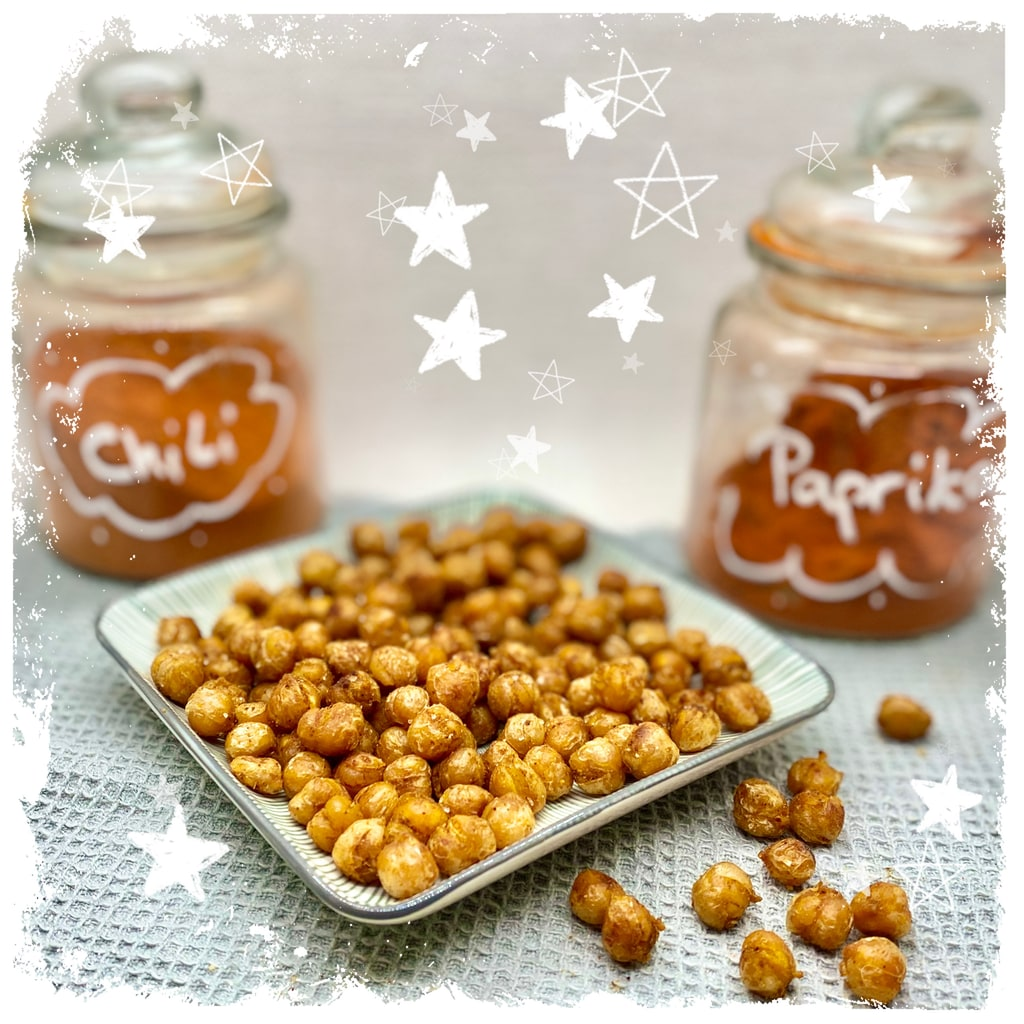 Geröstete Kichererbsen Curry Style Rezept