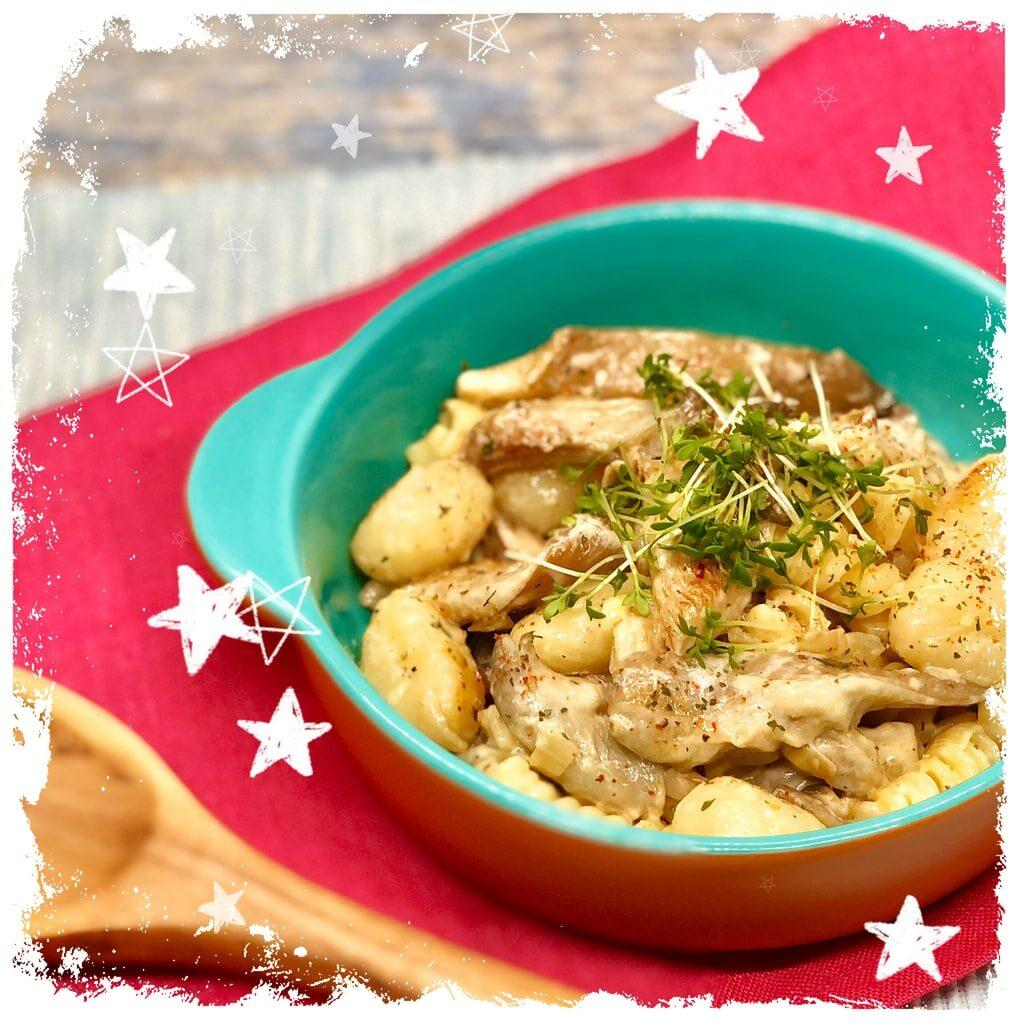 Nudelpfanne mit Austernpilzen Rezept