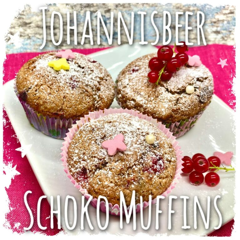 Johannisbeer Schoko Muffins