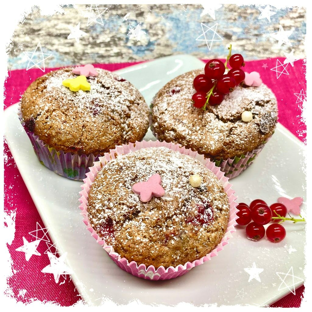Johannisbeer Schoko Muffins Rezept